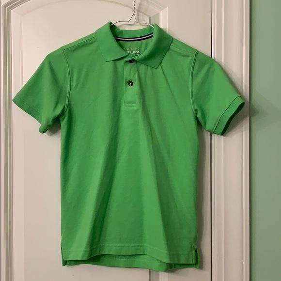 Basic Edition collard polo shirt.